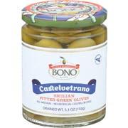 Bono Castelvetrano Sicilian Pitted Green Olives, 5.3 Ounce -- 6 per case