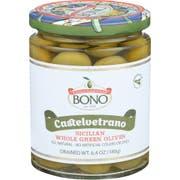 Bono Castelvetrano Sicilian Whole Green Olives, 6.4 Ounce -- 6 per case