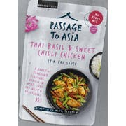 Passage Foods Thai Basil and Sweet Chili Stir Fry Simmer Sauce, 7 Ounce -- 6 per case