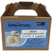 Kalona Super Natural Ricotta and Burrata Cheese Kit, 6 Ounce -- 6 per case