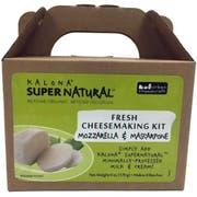 Kalona Super Natural Mozzarella and Mascarpone Cheese Kit, 6 Ounce -- 6 per case