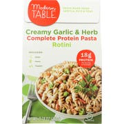 Modern Table Creamy Garlic and Herb Lentil Rotini Pasta Meal Kit, 9.74 Ounce -- 6 per case
