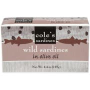 Coles Sardine in Olive Oil, 4.4 Ounce -- 10 per case
