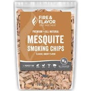 Fire and Flavor Mesquite Smoking Wood Chips, 2 Pound -- 6 per case