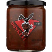Donkey Chip Hot Salsa, 16 Ounce -- 6 per case
