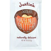 Justins Naturally Delicious Chocolate Hazelnut Butter, 1.15 Ounce Squeeze -- 10 per case