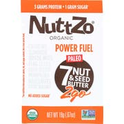 Nuttzo Organic Power Fuel Multi Nut and Seed Butter, 0.67 Ounce -- 10 per case