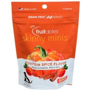 Fruitables Pumpkin Spice Skinny Minis Chewy Dog Treats, 5 Ounce -- 12 per case