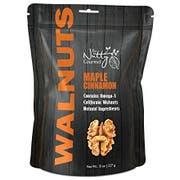 Nutty Gourmet Maple Cinnamon Flavored Walnut, 8 Ounce -- 6 per case