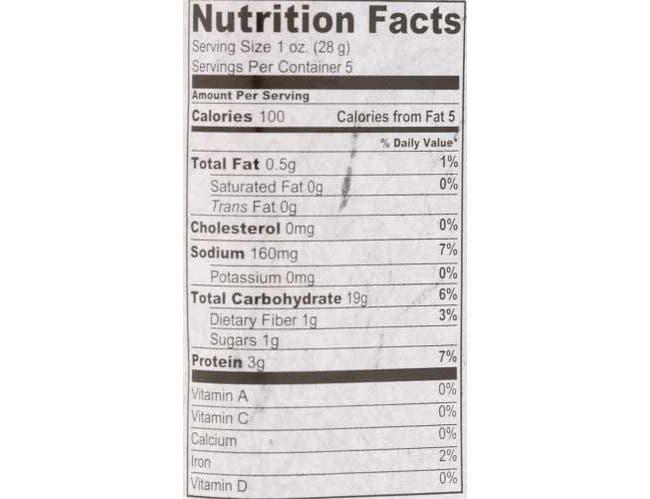 Firehook Sea Salt Mediterranean Baked Crackers, 5.5 Ounce Snack Box -- 8 per case