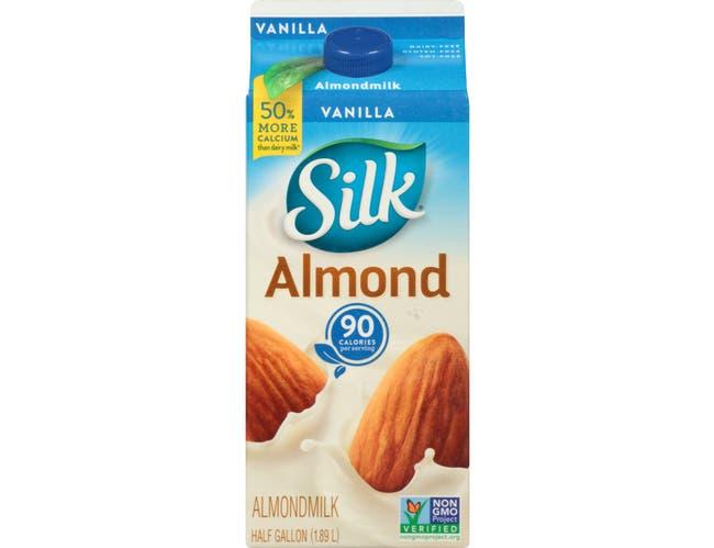 Silk All Natural Pure Almond Vanilla Soymilk, 64 Ounce -- 6 per case.