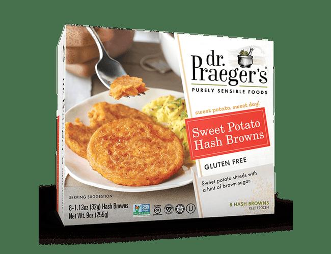 Dr Praegers Sweet Potato Hash Browns, 9 Ounce -- 6 per case