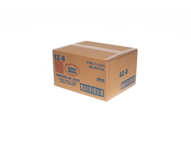 8X10.75 Interfolded Deli Dry Wax Tissue, 500 per pack -- 12 packs per case