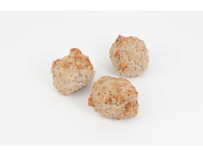 Strauss Cooked Frozen Veal Meatball, 5 Pound -- 2 per case.