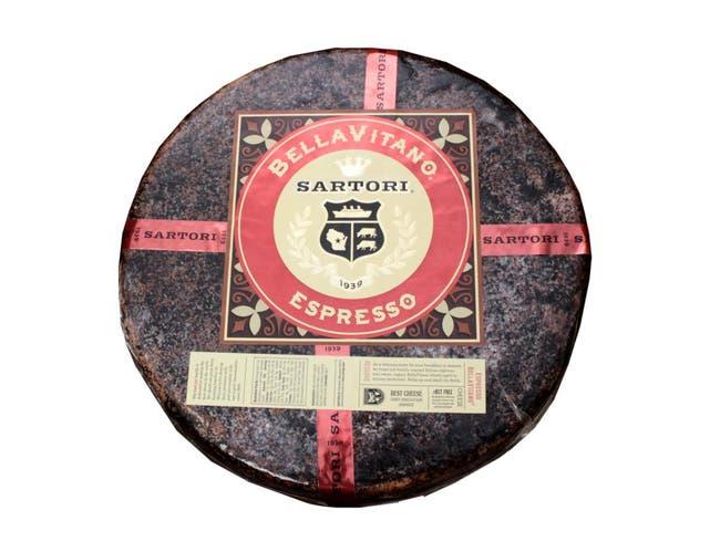 Sartori Reserve Espresso BellaVitano Cheese Wheel, 20 Pound -- 1 each.