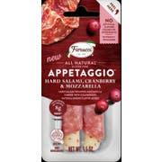 Fiorucci Hard Salami Cranberry and Mozzarella Appetaggio, 1.5 Ounce -- 16 per case