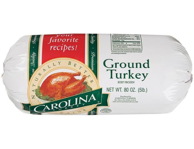 Carolina Turkey Ground, 5 Pound -- 4 per case.