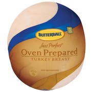 Butterball Just Perfect Oven Prepared Skinless Turkey Breast, 9 Pound -- 2 per case.