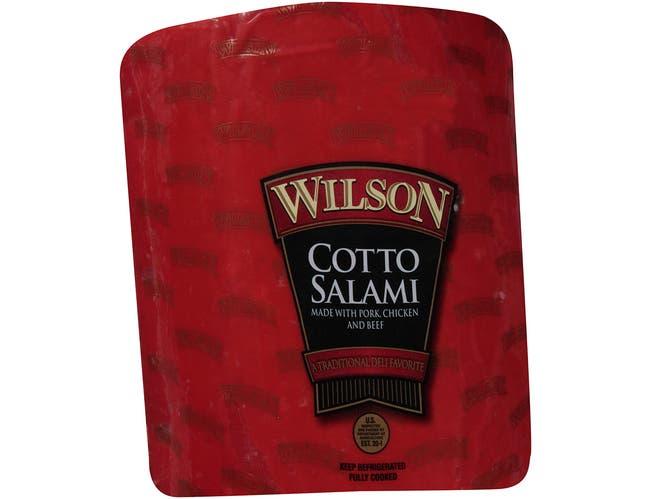 Tyson Cotto Salami Stick, 4.6 Pound -- 4 per case.