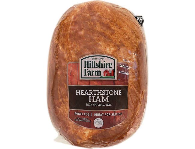 Hillshire Farm Fully Cooked Hearthstone Ham, 10 Pound -- 2 Per Case