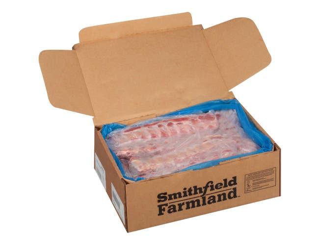 Farmland Danish Style Pork Back Rib, 1.15 Pound -- 35 per case.