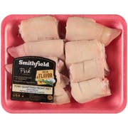 Smithfield Quartered 16 Piece Front Feet Pork Piece -- 16 per case.