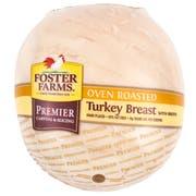 Foster Farms Oven Roasted Turkey Breast -- 2 per case.