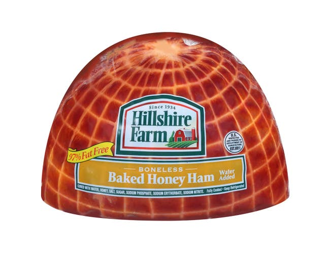 Sara Lee Lower Sodium Boneless Honey Ham, 4 Pound -- 3 per case.