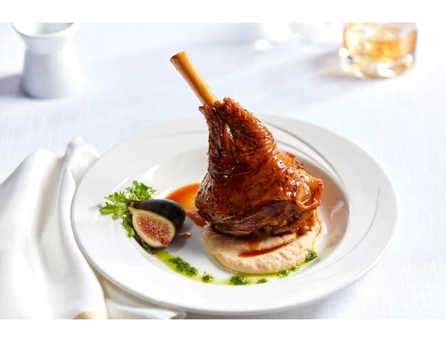 Bonewerks Culinarte Braised Lamb Shank Meat - Fully Cooked -- 12 per case.