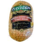 Plantation Peppered Hickory Smoked Turkey Breast, 6.4 Pound -- 3 per case