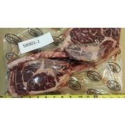 Darling Down Wagyu Beef Bone in Rib Steak Tomahawk, 2 count per pack -- 2 per case.