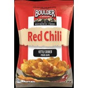 Boulder Canyon Red Chili Kettle Cooked Potato Chips, 1.5 Ounce -- 55 per case.
