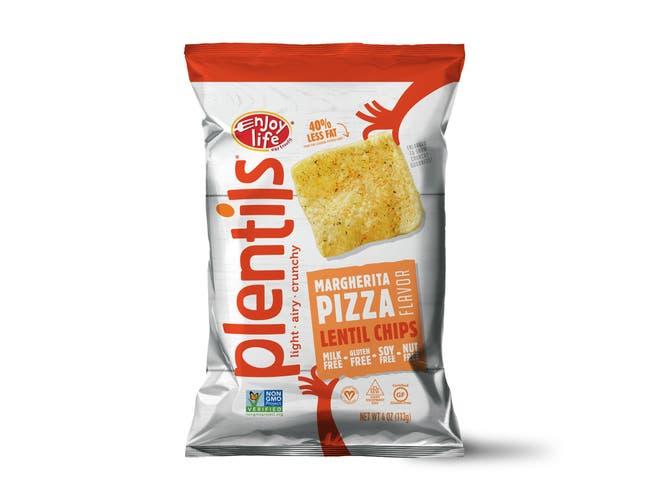 Enjoy Life Margherita Pizza Plentils Chips, 4 Ounce -- 12 per case