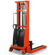 Ballymore Semi Electric Stacker with Adjustable Base Legs, 2200 Pound -- 1 each.