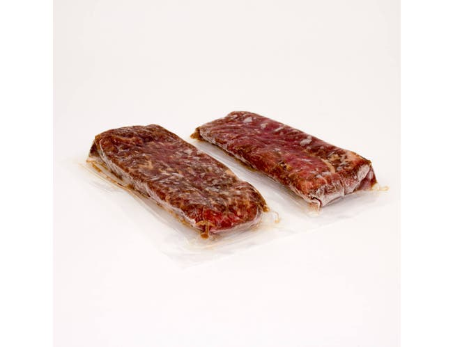National Steak and Poultry Savory Sirloin Steak, 8 Ounce -- 16 per case.