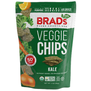 Brads Raw Foods Organic Kale Chips, 3 Ounce -- 12 per case.