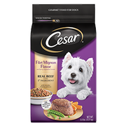 Cesar Dry Filet Mignon with Spring Vegetable Dog Food, 5 Ounce -- 4 per case.
