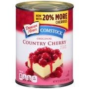 Comstock Original Country Cheery Pie Filling, 21 Ounce -- 12 per case.