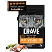Crave Chicken Adult Dog Food, 4 Pound -- 3 per case.