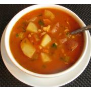 Taste Traditions Manhattan Clam Chowder Soup - 8 lb. package, 2 per case