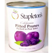 Stapleton Spence Packing Pitted Prune in Pear Juice - Number 10 Can -- 3 cans per case.