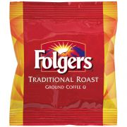 Folgers Traditional Roast Urn Ground Coffee, 8 Ounce -- 48 per case.