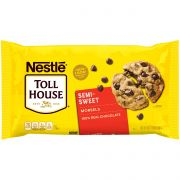 Tollhouse Semisweet Chocolate Morsels, 24 Ounce -- 12 per case.