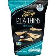 Stacys Simply Naked Regular Pita Crisps, 6.75 Ounce -- 8 per case.
