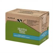 Morningstar Farms Poultry Parmesan Garlic Wings, 10 Ounce -- 6 per case.