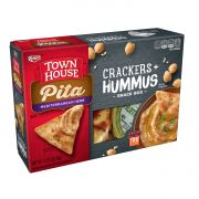 Keebler Town House Pita Crackers Mediterranean Herb with Hummus, 2.75 Ounce -- 8 per case.