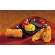Cuisine Innovations Spring Roll, 1 Ounce - Asian Appetizer -- 100 per case.