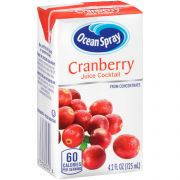 Ocean Spray Cranberry Cocktail Juice, 4.2 Fluid Ounce -- 40 per case.