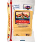 Land O Lakes American Yellow Deli Process Cheese Loaf - Sliced, 8 Ounce -- 12 per case.
