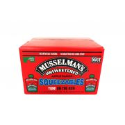 Musselmans Unsweetened Squeezables Apple Sauce, 3.17 Ounce -- 50 per case.